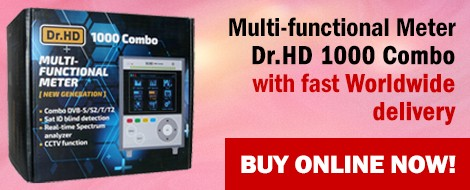 Multi-functional Meter Dr.HD 1000 Combo - Buy now!